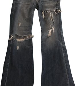 Big Star Boot Cut Jeans-Medium Wash