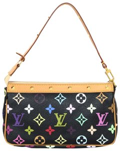 Louis Vuitton Monogram Logo Stud Shoulder Bag