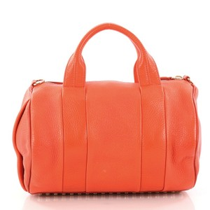 Alexander Wang Rocco Satchel Tote in orange