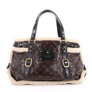 Louis Vuitton Pvc Tote in brown
