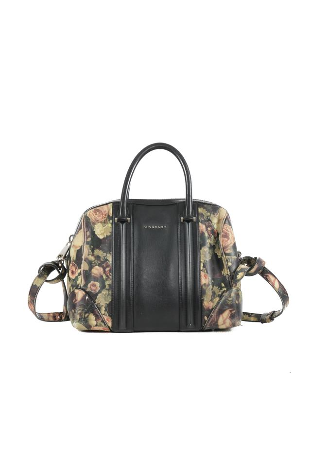 Givenchy Lucrezia Roses Multicolor Leather Shoulder Bag - Tradesy ccee2fa823b38