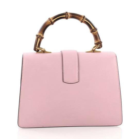 Gucci Leather Satchel in pink