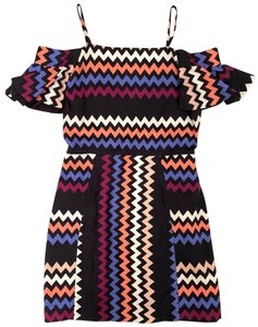 MSGM short dress Multicolor on Tradesy