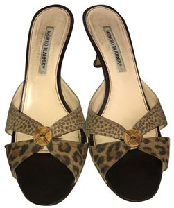 Manolo Blahnik brown Sandals