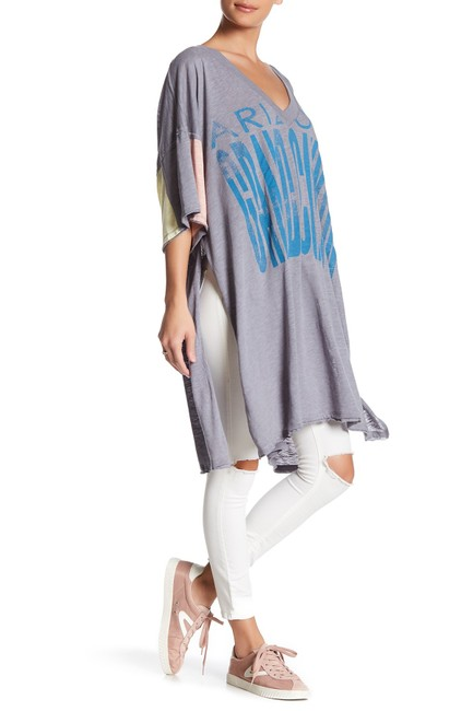 Item - Grey Graphic City Slicker Tunic Size 2 (XS)