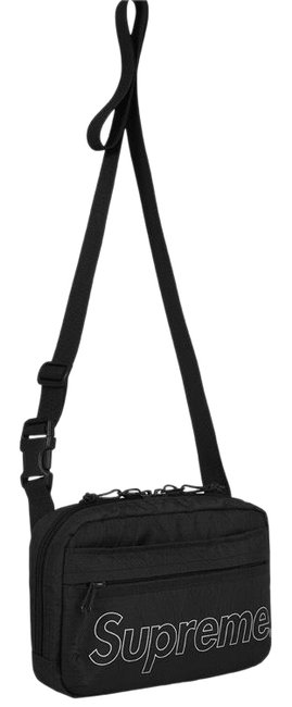 Item - Limited Edition Black Dimension-polyant Vx21-rs 4-layered Fabric Cross Body Bag