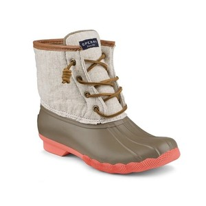 Sperry taupe/natural hemp Boots