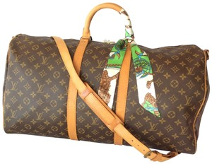 Louis Vuitton Keepall Bandouliere Luggage Keepall Bandouliere Monogram Travel Bag