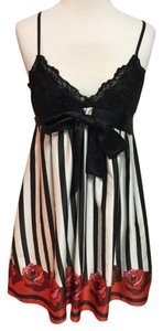 Forever 21 Striped Floral Lace Dress