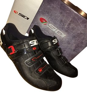 Sidi Genius 5-pro Carbon sole, sz. 38.5 Euro, 7-US, Jet-black Lorica, Italy, Brand New in Box