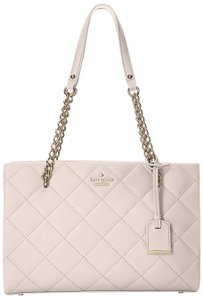 Kate Spade Quilted Phoebe Small Phoebe Shoulder Satchel in Mousse Frosting