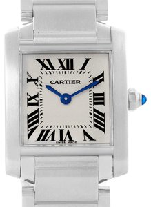 Cartier Cartier Tank Francaise Stainless Steel Ladies Watch W51008Q3