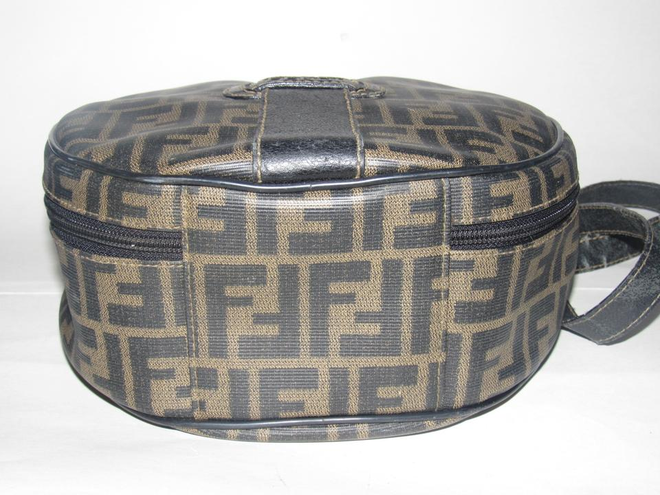 Fendi Vintage Purses Designer Purses Large F Logo Print In Shades Of ... fd38ff36ad4d