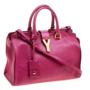 Saint Laurent Cabas Chyc Tote in Pink