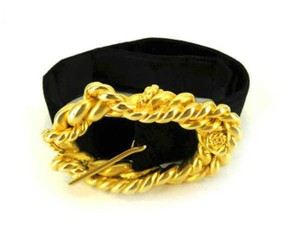 Chanel Fancy Gold Waist Belt 232180