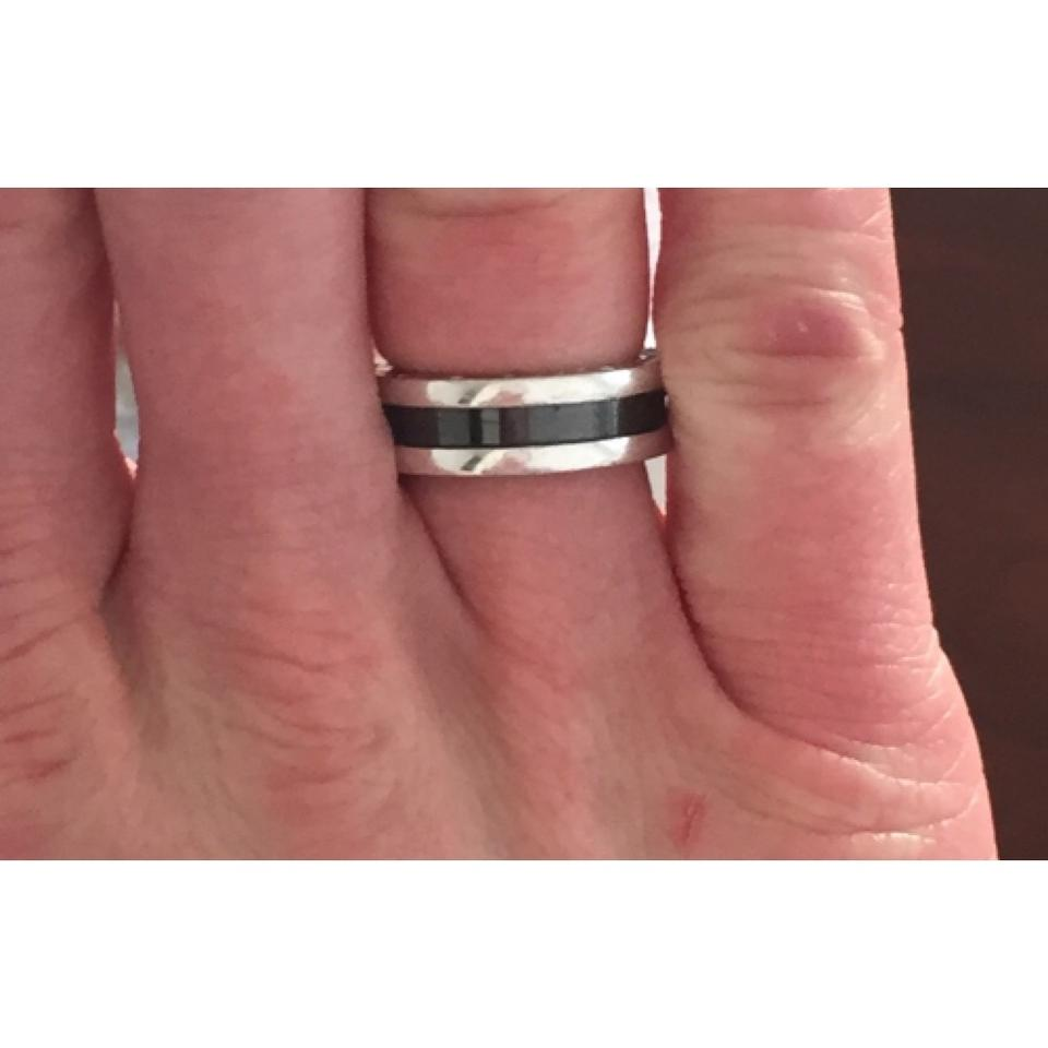 BVLGARI Silver and Black The Children B Zero 1 Ring - Tradesy