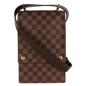 Louis Vuitton Damier Canvas Portobello Canvas Vintage Classic Shoulder Bag