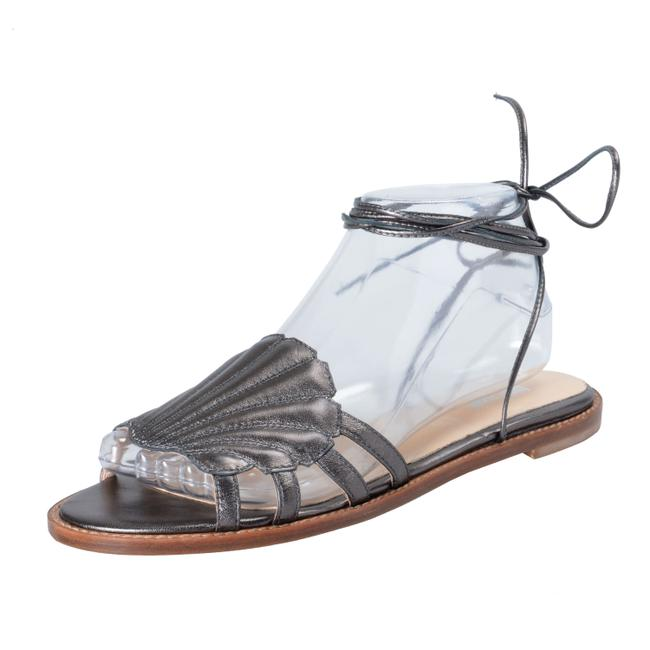 Item - Silver Gray Shoes-3492 Sandals Size US 9 Regular (M, B)