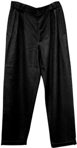 Versace Istante Uomo Eu50 Made In Italy Men's Dress 100%wool/Lined Trouser Pants Charcoal