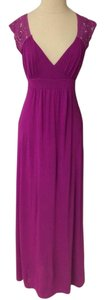 purple Maxi Dress by BCBGMAXAZRIA