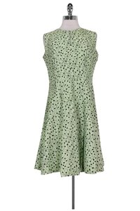 Hugo Boss short dress Green Light Patterned Flared on Tradesy