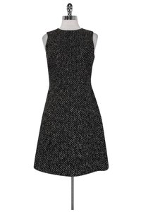 Theory short dress Black White Knit on Tradesy