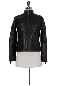 Bernardo Leather black Jacket
