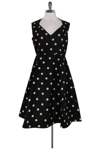 Kate Spade short dress Black White Dotted on Tradesy