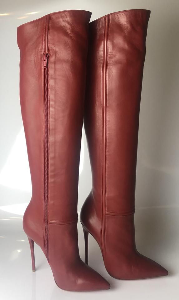 e9e67e6cfef Christian Louboutin Rouge Imperial Armurabotta 120 Nappa Leather  Boots/Booties Size EU 38 (Approx. US 8) Regular (M, B) 31% off retail