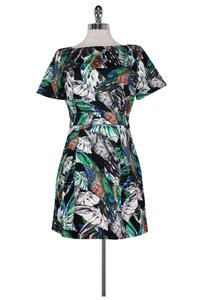 French Connection short dress Tropical Print on Tradesy
