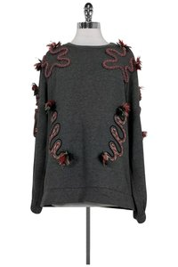 Stella McCartney Snake Embroidered Sweater Sweatshirt