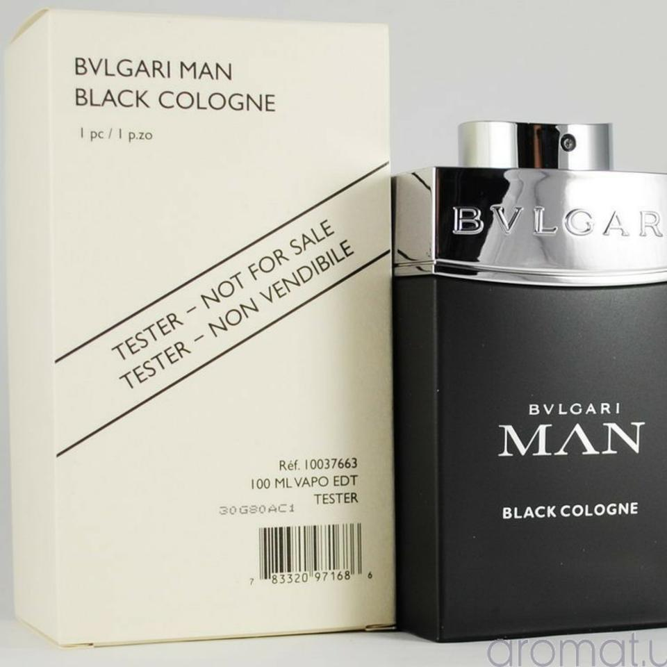 9fff17e134 BVLGARI Man Black Cologne-3.4 Oz-100 Ml-tester-italy Fragrance - Tradesy