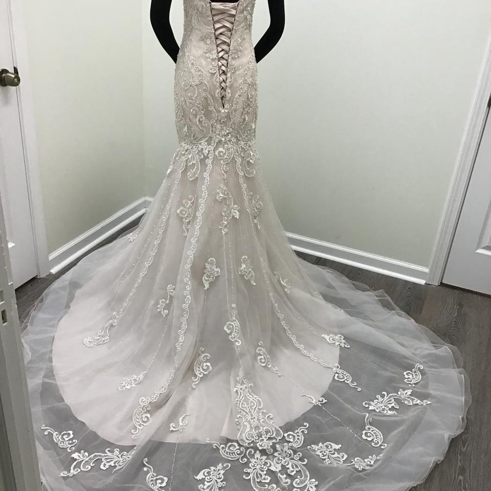 Stella York Ivory/Moscato Lace/Tulle/Regency Organza 6654
