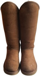 Australia Luxe Collective Auu Shearling Chestnut Boots