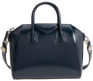Givenchy Antigona Silver Tote in Navy