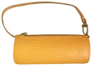 Louis Vuitton Wristlet in yellow