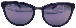 Chanel 2017 Chanel Cat Eye Purple Chain Mirror Sunglasses 5361-Q c.1576/5R