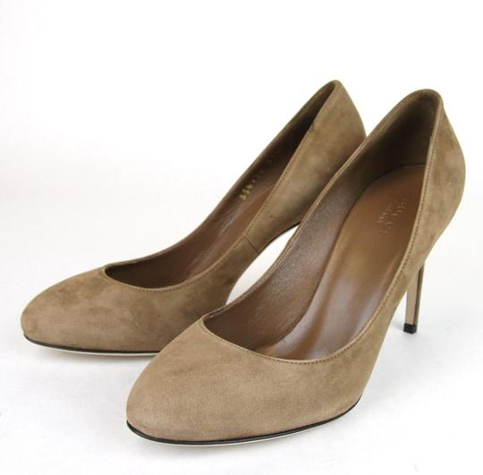 Gucci 338776 Womens Suede Brown/2527 Pumps Image 1