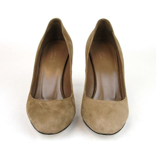 Gucci 338776 Womens Suede Brown/2527 Pumps Image 2