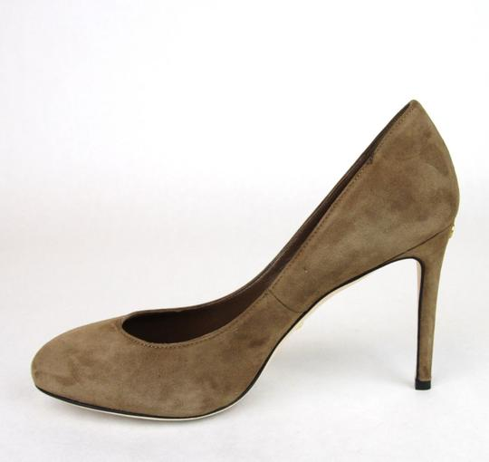 Gucci 338776 Womens Suede Brown/2527 Pumps Image 6