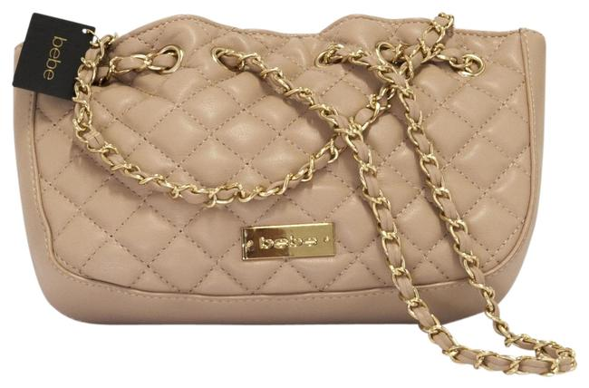 Item - Super Soft Warm Taupe Faux Leather Cross Body Bag