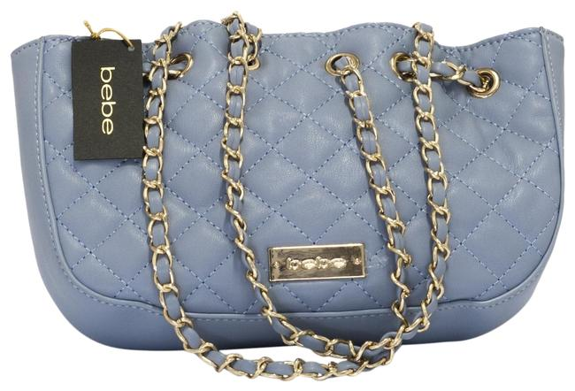 Item - Silky Cloud Blue Faux Leather Cross Body Bag
