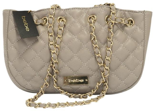 Item - Super Soft Light Grey Faux Leather Cross Body Bag