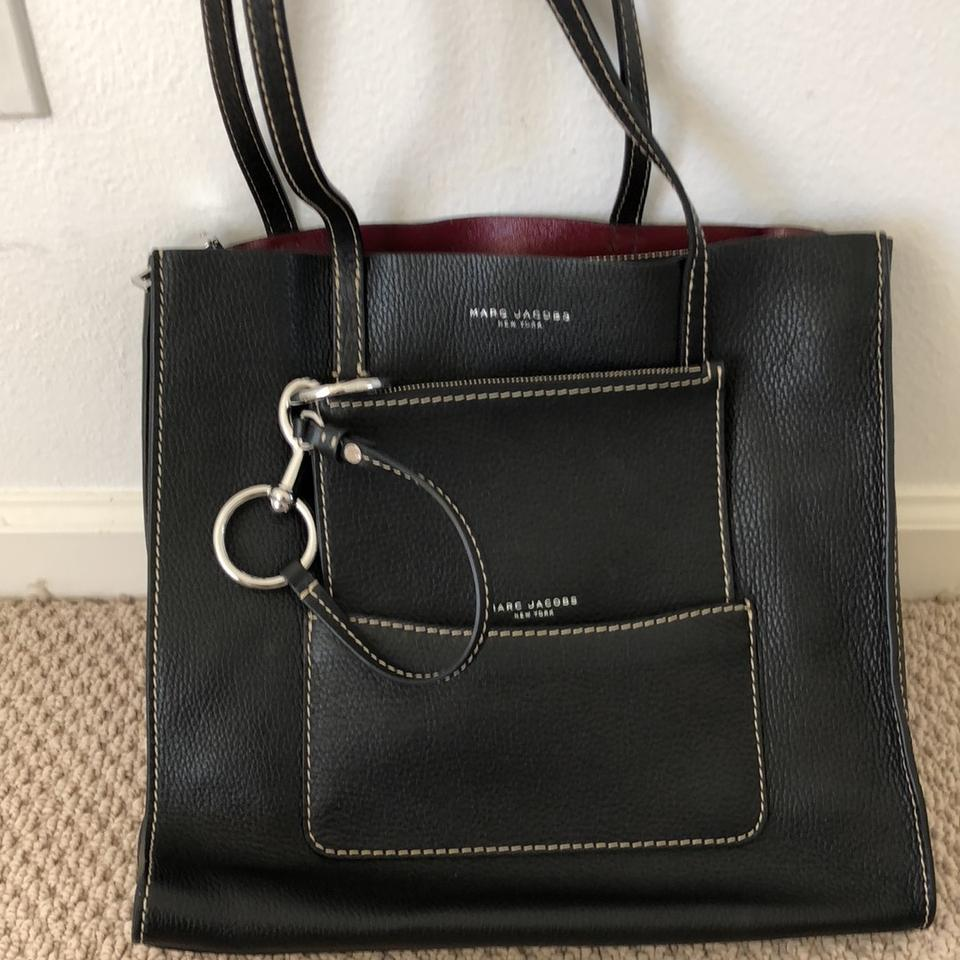 15bf91a1ffd0 Marc Jacobs The Bold Grind East West Leather Tote - Tradesy