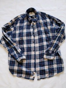 St. John Multi-color Bay Plaid Flannel Button Down Shirt