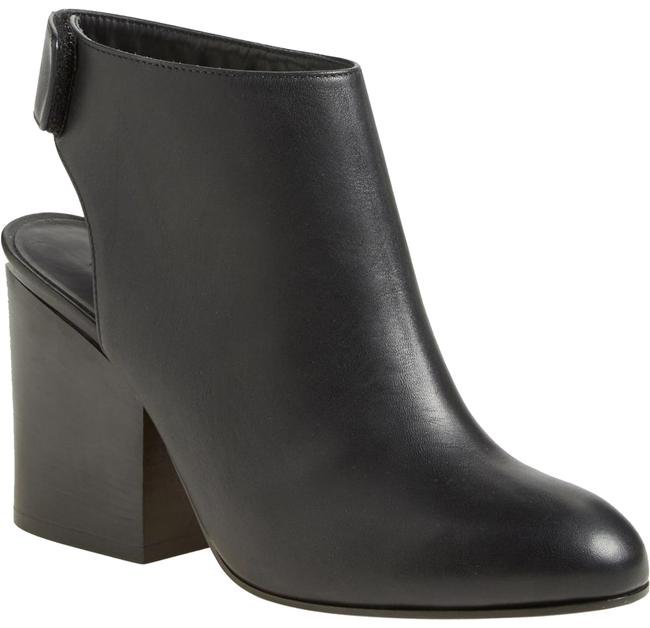 Vince Black Ingrid Leather Cut Out Ankle Boots/Booties Size US 7 Regular (M, B) Vince Black Ingrid Leather Cut Out Ankle Boots/Booties Size US 7 Regular (M, B) Image 1