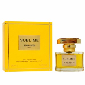 Jean Patou SUBLIME JEAN PATOU FOR WOMEN-EDT-1.0 OZ-30 ML-FRANCE