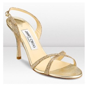 Jimmy Choo silver/gold Formal