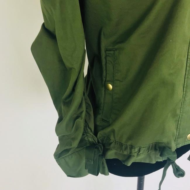 J.Crew Field Rushed Sleeve Green Jacket Image 4