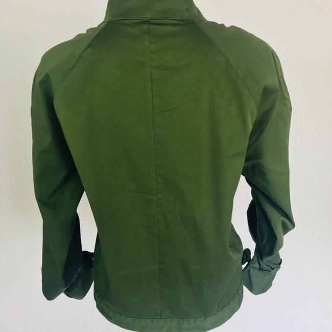 J.Crew Field Rushed Sleeve Green Jacket Image 5